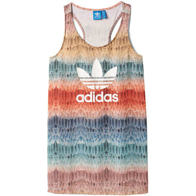 adidas Originals X The Farm Company Menire Tank Top Damen Shirt Federn Vogel | eBay