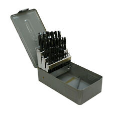29 Pc Jobber Drill Set 116 12 By 64th With Metal Index Box