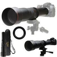 Vivitar Super 650-1300mm Telephoto Lens For Sony Dslr-a290 Dslr-a300 Dslr-a350