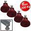 200 140 96 3S ANTIVIBRANTE IN MEGOL A PAVIMENTO CON PORTATE MAX 48 4 PZ