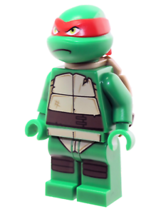 Teenage Mutant Ninja Turtles tnt015 Raphael LEGO® Minifigur