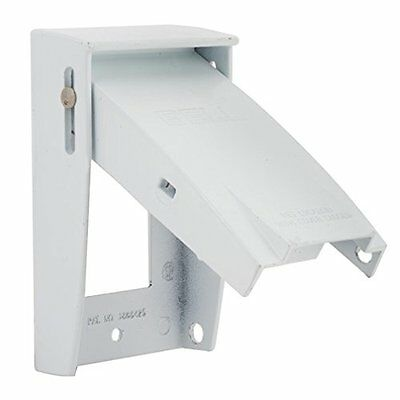 Hubbell-Bell 5028-6 Padlockable Weatherproof Cover 2-3//4-Inch X 4-1//2-Inch