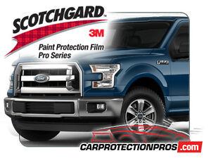 3M Scotchgard Paint Protection Film Pro Series 2015 2016 2017 Ford F-150 XL XLT