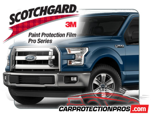 2017 FORD F-150 XLT 3M Pro Series Clear Bra Standard Paint Protection Kit
