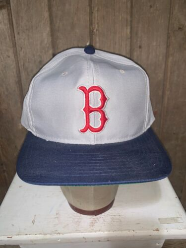 VINTAGE 80s/90s Boston Red Sox MLB Grosscap Brand… - image 1