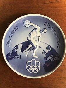 Royal-Copenhagen-Olympiad-1976-Montreal-Wall-Plate