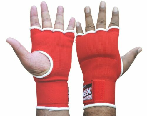 Hand Wrap Red Padded GEL inner boxing glove MMA Quick wraps Kids hand wrap New