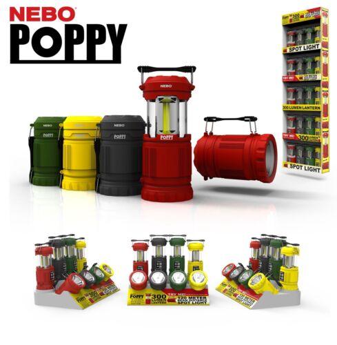 NEBO POPPY LANTERN SPOTLIGHT 300 LUMEN COB LED UK SELLER NE6555