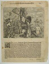 Theodor de Bry Kolumbus Santa Maria Amerika Entdecker Neptun Nereiden Poseidon