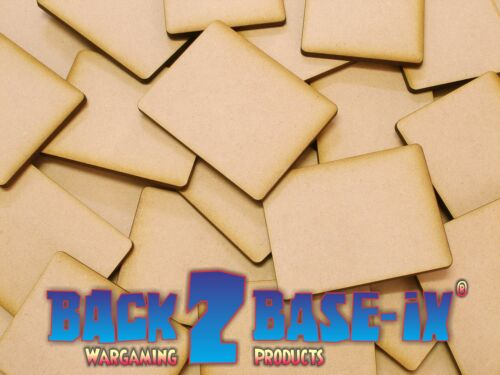 Flames Of War MDF 1.8mm Thick Wood Base Rectangle Shape Various Sizes