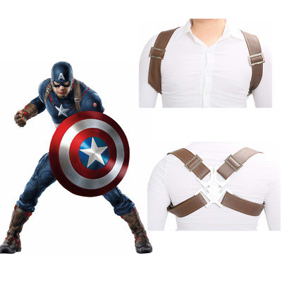 Avengers 2 Age of Ultron Cosplay Captain America Strap Belt Accessories Mask