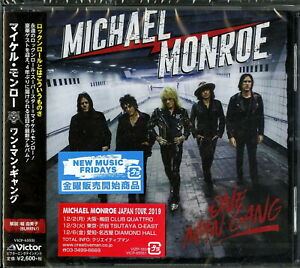 MICHAEL MONROE-ONE MAN GANG-JAPAN CD F83