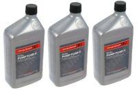 3-pcs Genuine Honda Rear Differential Dual Pump 2 Fluid 082009007