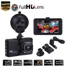 "3.0"" LCD 1080p HD Car DVR Dash Camera Video Recorder Night Vision G-sensor K1b"