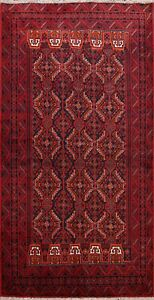 Geometric Traditional Hand-knotted Tribal Area Rug Wool Oriental Carpet 4x6 New