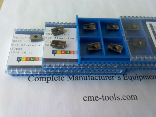 30pcs R390-11T308 Carbide Inserts Coated for aluminum machining