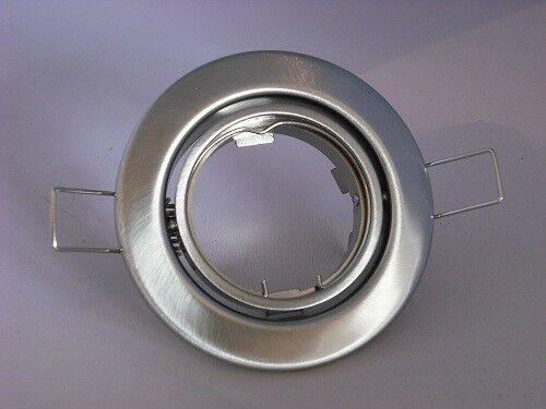 18 x Einbaustrahler Rahmen Spot schwenkbar  Fassung GU10 Eisen gebürstet   42 | Einfach zu bedienen  | Zu verkaufen  | Zuverlässige Leistung