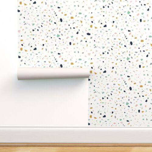 Peel-and-Stick Removable Wallpaper Whimsical Pop Terrazzo Jumbo Jumbo Scale