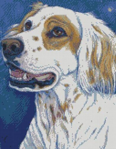 Cross Stitch Chart Kit Bull Terrier Chihuahua Cavalier Cocker Spaniel Setter Dog