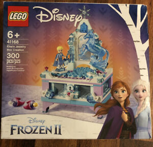 Lego Disney 41168 Frozen II Elsa/'s Jewelry Box Creation 300pcs New Sealed 2019