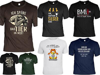 Sport Sprüche T Shirt Siegershirt Fitness T Shirt Sportshirt Sportmuffel Ebay