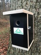 Nistkasten deluxe für Meisen Spatzen Sperlinge Vogelkasten Kieferle 009.004
