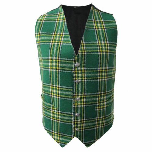 4 Plaids Sizes 36-58 Tartanista Scottish Tartan Waistcoats//Vests