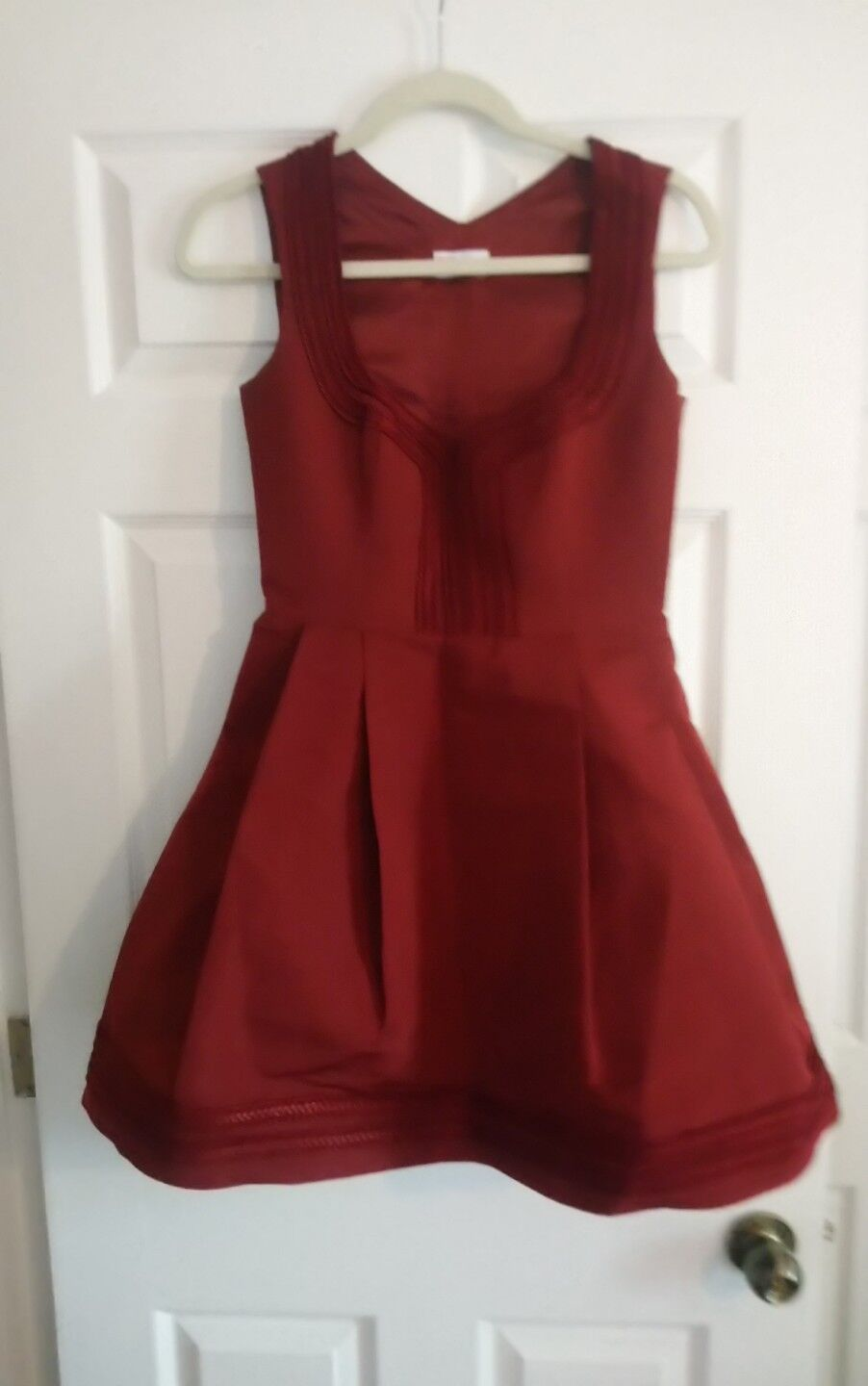 Red Valentino Red Designer Dress, Xs