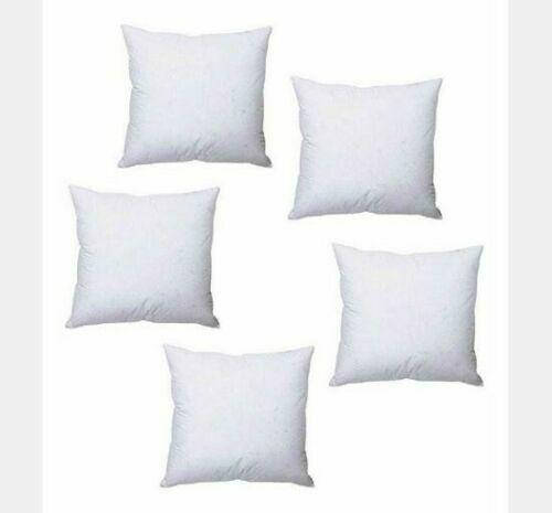 """53cm x 53cm Hollowfibre Filling Polyester Cushion Inner Insert Scatter 21/""""x21/"""""""