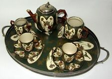 SERVICE A THE THEIERE EN PORCELAINE Taylor Tunnicliffe & Co style WILLIAM MORRIS