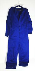 DDR Combinaison de Travail Bleu Vintage Taille 50 Oldtimer ! (nr.1