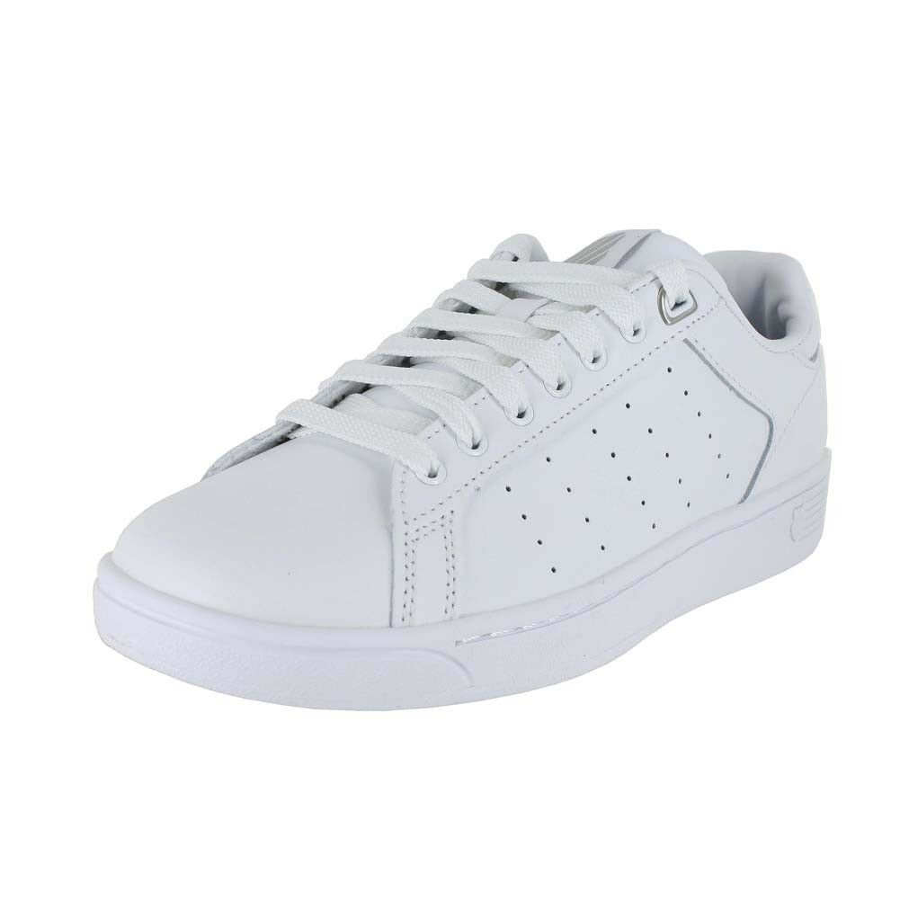 KSWISS CLEAN COURT CMF WHITE 95353 131 WOMENS US SIZES
