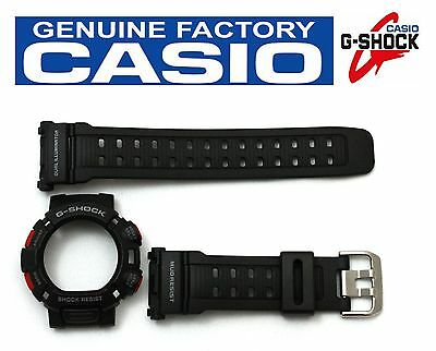 CASIO G-Shock Mudman Original G-9000 Black BAND & BEZEL Combo