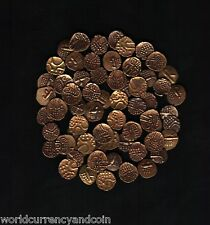 INDIA STATE *GOLD* FANAM 17th CENTURY *ONE* ANCIENT INDIAN GOLD CURRENCY COIN