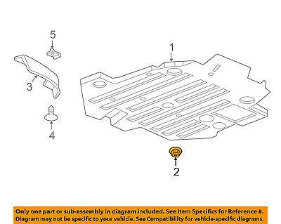 GM OEM Exterior-Support Bracket Nut 11609746