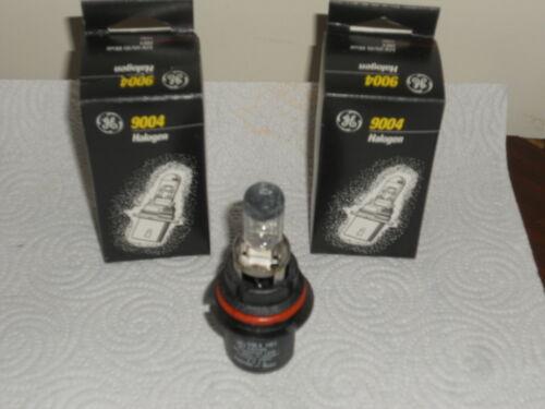 2x 9004//HB1 Halogen 65//45W 12V Dual-Beam Low//High Headlight Bulbs Clear NIB