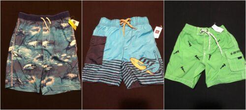 NWT Gap Kids Boys Swim Swimsuit Board Shorts Selection 2 Yrs XS XXL