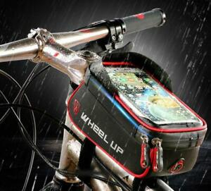 Cycling-Bicycle-Top-Frame-Front-Pannier-Saddle-Tube-Bag-Waterproof-Pouch-Holder