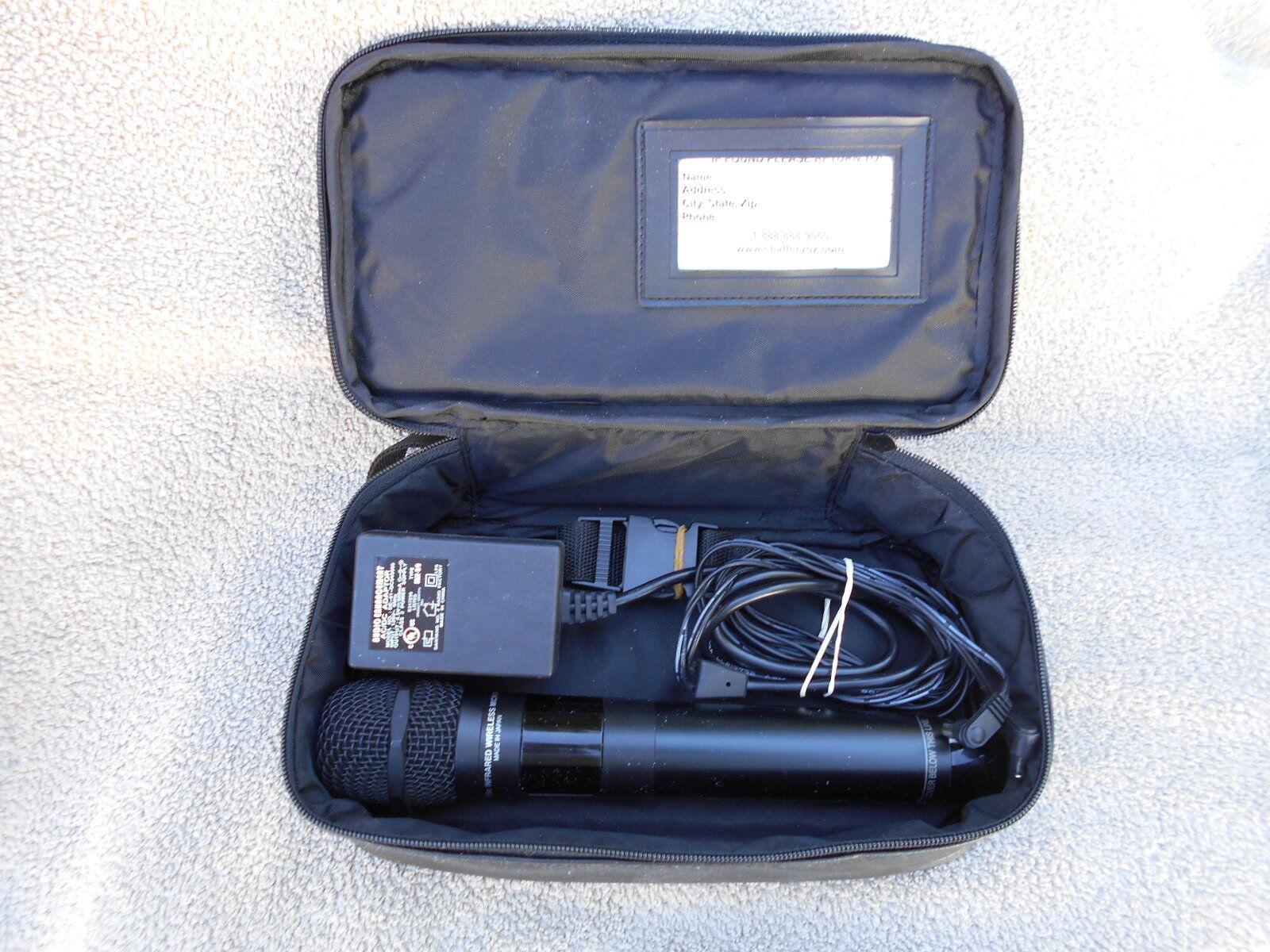 AZDEN IRH-15c  WIRELESS MICROPHONE