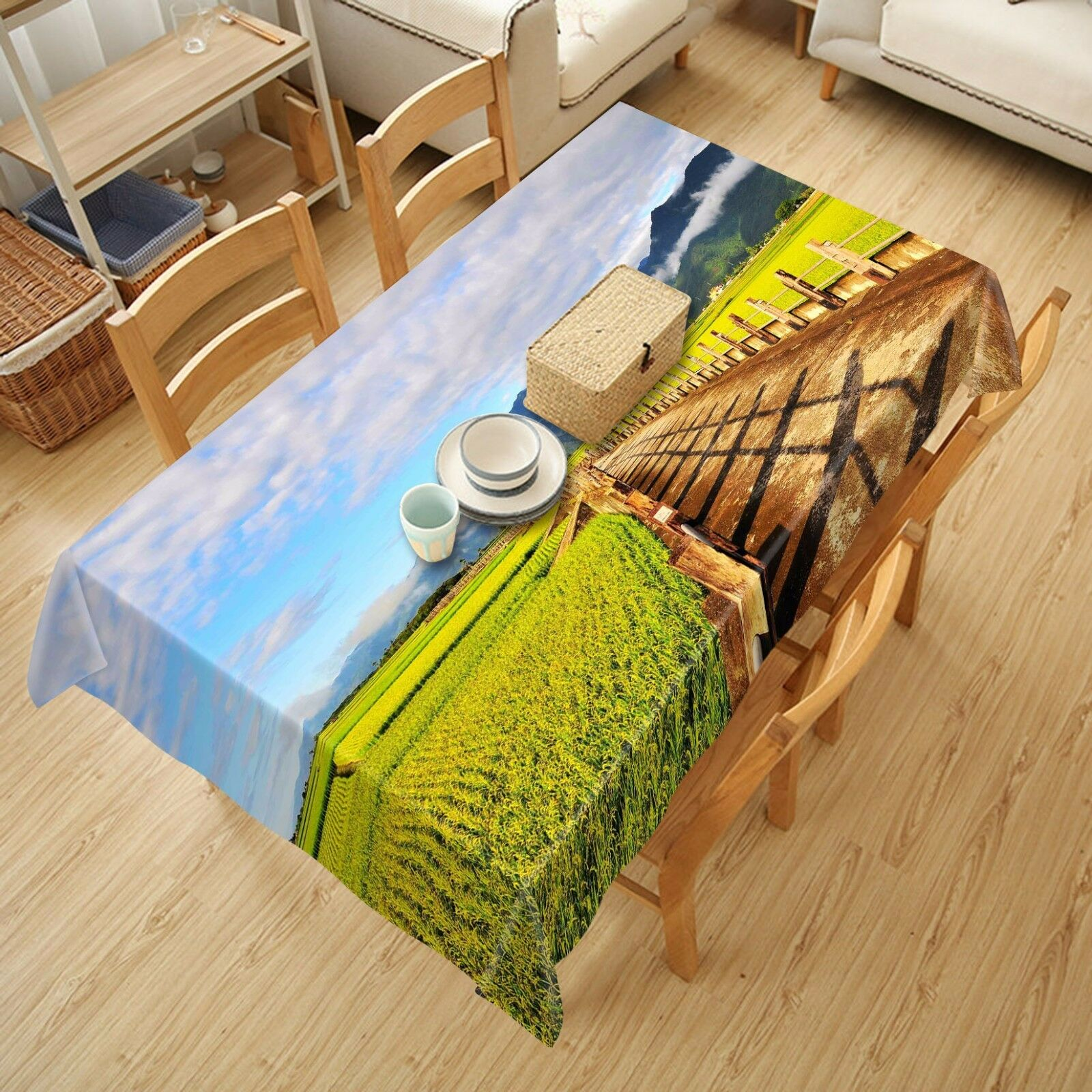 3D Road 4462 Tablecloth Table Cover Cloth Birthday Party Event AJ WALLPAPER AU