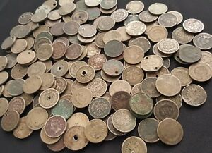 1859-1864-Copper-Nickel-Old-U-S-Indian-Head-Penny-Cent-CULL-Coins-1-COIN