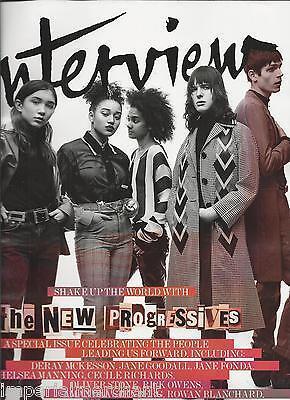 Interview fashion magazine The new progressives Susan Sarandon Michael Heizer