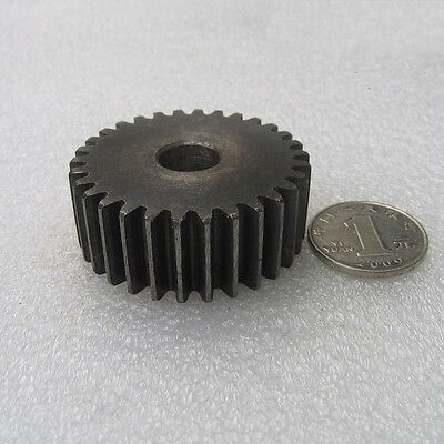 45# Steel Motor Spur Pinion Gear 2M30T 2M31T 2M32T 2M33T 2M34T Height 20mm x1Pcs