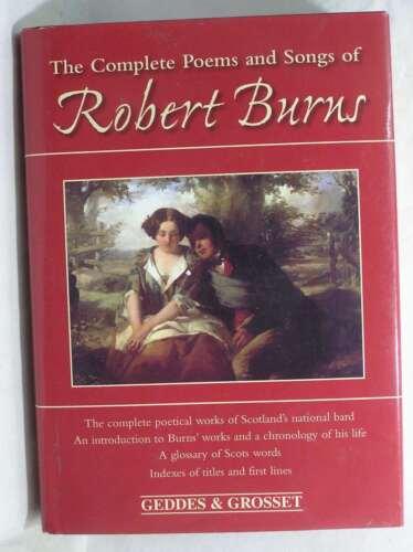 1 of 1 - Complete Poems and Songs of Robert Burns, Robert Burns, Very Good Book