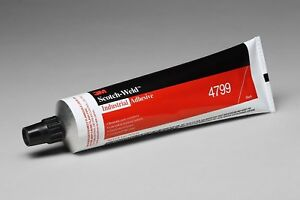 3M 21354 Black Industrial Adhesive 4799, 5 Ounce