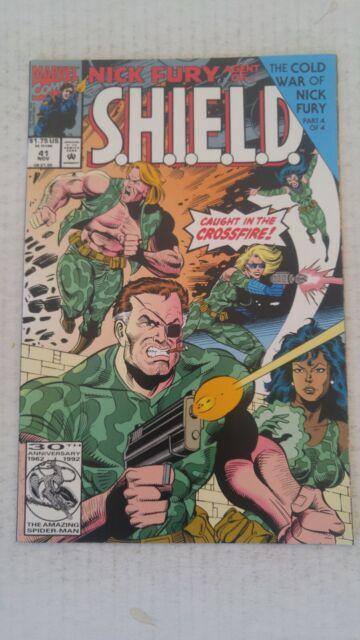 Nick Fury Agent Of SHIELD #41 November 1992 Marvel Comics