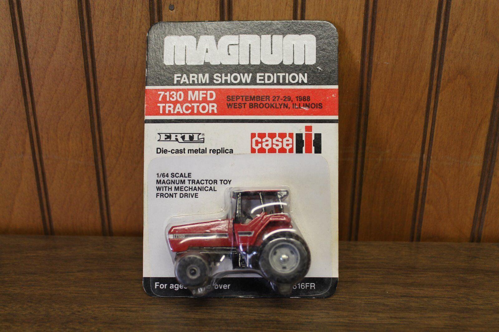 Magnum, Farm Show Edition, Case International 7130 MFD, Scale 1 64, ERTL,Diecast