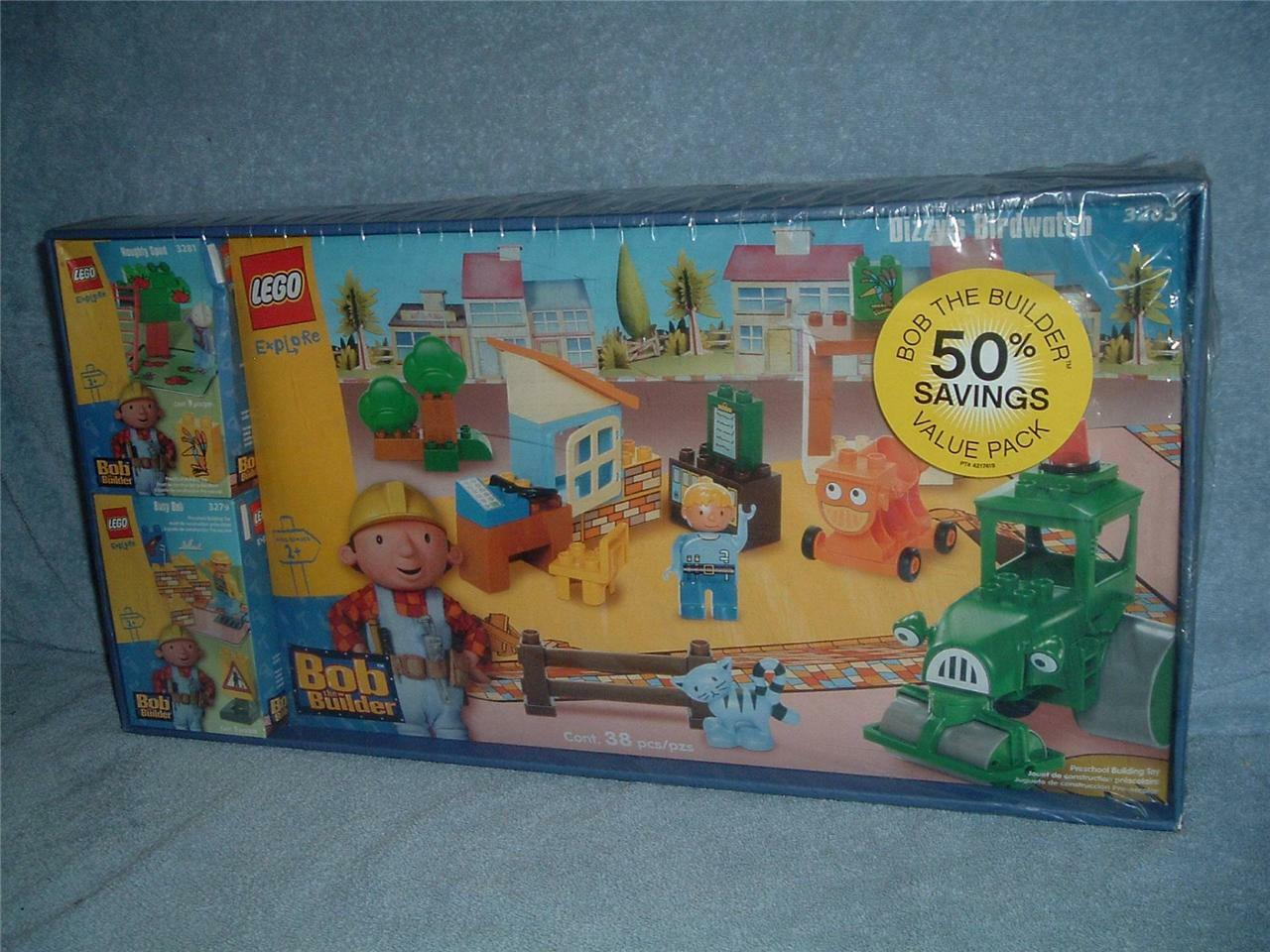 LEGO Explore 3283 3281 3279 Naughty Spud Busy Bob the the the Builder Dizzy's Birdwatch b4e58a