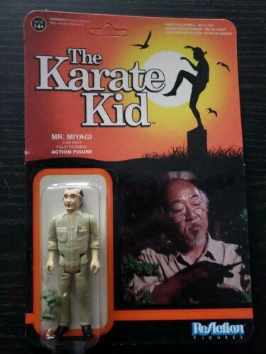 Funko ReAction Figures The Karate Kid Mr Miyagi UNPUNCHED New