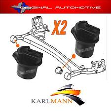 Se adapta a Toyota Yaris & Verso 1999-2005 Karlmann Eje Trasero Suspensión Bushs